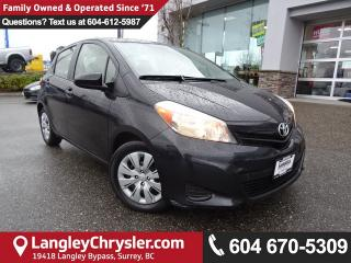 Used 2012 Toyota Yaris <B>*LOCAL BC CAR* LOW KMS*DEALER INSPECTED*<B> for sale in Surrey, BC