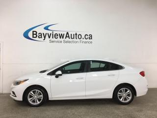 Used 2016 Chevrolet Cruze LT Auto - AUTO! REVERSE CAM! ALLOYS! + MORE! for sale in Belleville, ON