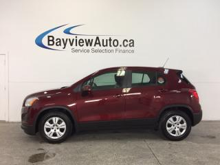 Used 2016 Chevrolet Trax - 6 SPEED|1.4L|A/C|CRUISE|15,000 KM! for sale in Belleville, ON