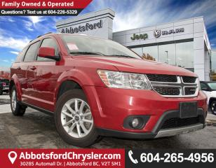 Used 2013 Dodge Journey SXT/Crew *ACCIDENT FREE* *LOCALLY DRIVEN* for sale in Abbotsford, BC