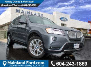 Used 2013 BMW X3 xDrive28i ***BC VEHICLE*** for sale in Surrey, BC