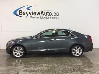 Used 2013 Cadillac ATS LUXURY - AWD! REMOTE START! HTD LTHR! ONSTAR! for sale in Belleville, ON