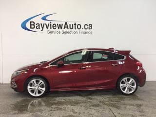 Used 2017 Chevrolet Cruze RS- ALLOYS|HTD LTHR|REV CAM|ON STAR|CRUISE! for sale in Belleville, ON