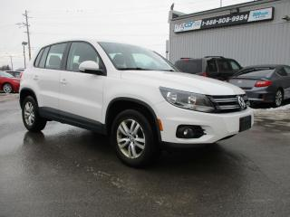 Used 2014 Volkswagen Tiguan Trendline for sale in Kingston, ON