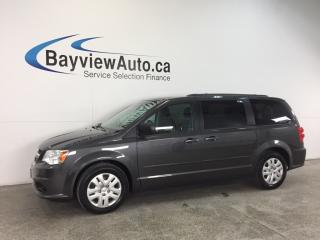 Used 2015 Dodge Grand Caravan SE- U-CONNECT! CRUISE! A/C! PWR GROUP! for sale in Belleville, ON
