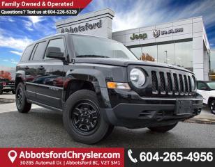 Used 2016 Jeep Patriot Sport/North *LOCALLY DRIVEN* for sale in Abbotsford, BC