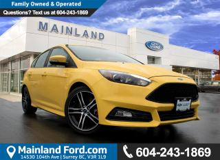 Used 2017 Ford Focus ST Base VERY LOW KM'S NO ACCIDENTS for sale in Surrey, BC