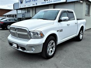 Used 2016 RAM 1500 Laramie Navigation, Leather, AIR Ride Suspension for sale in Concord, ON