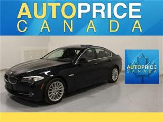 Used 2013 BMW 5 Series XDrivE NAVI EXECUTIVE PKG for sale in Mississauga, ON