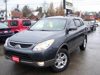 Used 2012 Hyundai Veracruz GLS,ONE OWNER,NO ACCIDENT,BLUETOOTH,DVD PLAYER for sale in Kitchener, ON