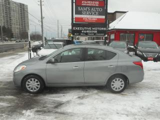 Used 2012 Nissan Versa Sedan SV LOW KM for sale in Scarborough, ON