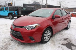 Used 2016 Toyota Corolla LE | EXCELLENT CONDITION | for sale in North York, ON