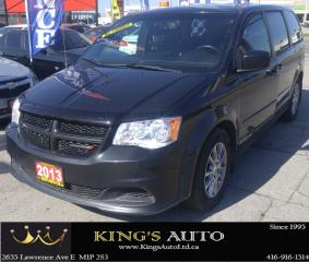 Used 2013 Dodge Grand Caravan R/T, LEATHER, NAVI, BACKUP CAM for sale in Scarborough, ON