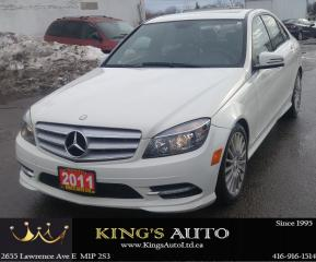 Used 2011 Mercedes-Benz C250 C 250, 4 MATIC, AWD, LEATHER for sale in Scarborough, ON