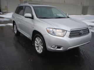 Used 2008 Toyota Highlander Hybrid AWD,NAVI.,SUNROOF,7 PASSENGER for sale in Mississauga, ON