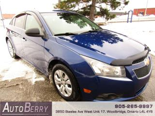 Used 2012 Chevrolet Cruze LS - 6 Speed - 1.8L for sale in Woodbridge, ON