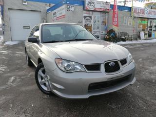 Used 2006 Subaru Impreza 2.5i AWD_Ontario Car_Alloy Wheels for sale in Oakville, ON