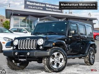 Used 2017 Jeep Wrangler UNLIMITED SAHARA 4X4 |NAV|REMOTESTART|19000KM for sale in Scarborough, ON
