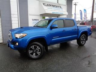 Used 2017 Toyota Tacoma TRD Sport 4x4, Manual, Nav, Sunroof, Blind Spot for sale in Langley, BC