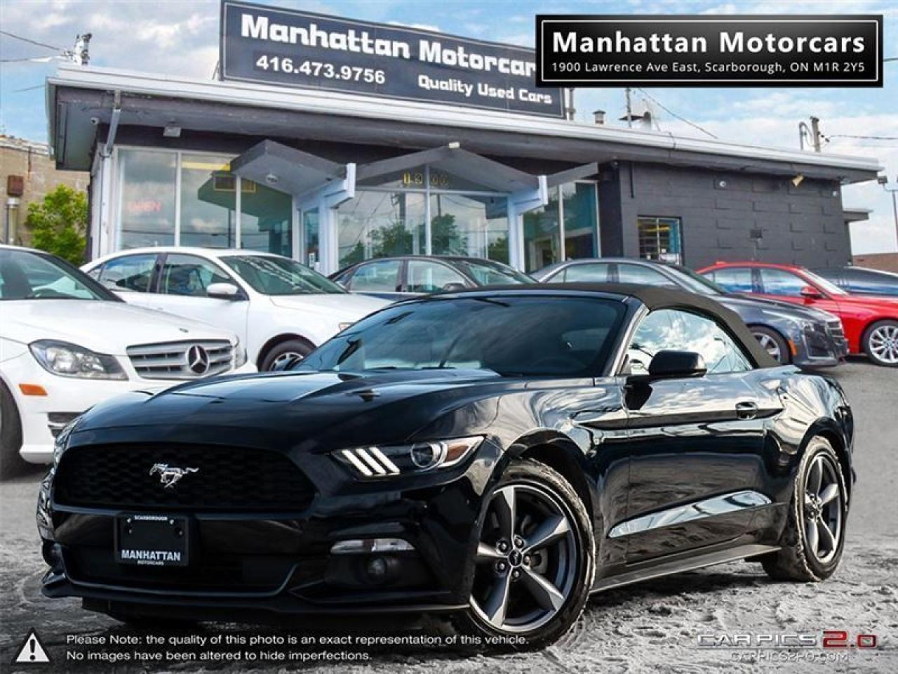 2017 Ford Mustang V6 CONVERTIBLE  CAMERA REMOTE START WARRANTY