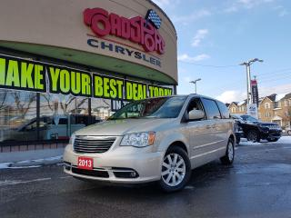 Used 2013 Chrysler Town & Country TOURING 2 DVD P-ROOF H-TED WHEEL & SEATS PWR DOORS for sale in Scarborough, ON