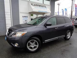Used 2014 Nissan Pathfinder Platinum 4x4, Nav, Leather, Rev. Camera/Sensors for sale in Langley, BC