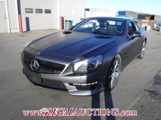 Used 2013 Mercedes-Benz SL-CLASS SL63AMG 2D ROADSTER 5.5L for sale in Calgary, AB
