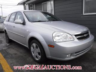 Used 2006 Chevrolet OPTRA  4D WAGON for sale in Calgary, AB