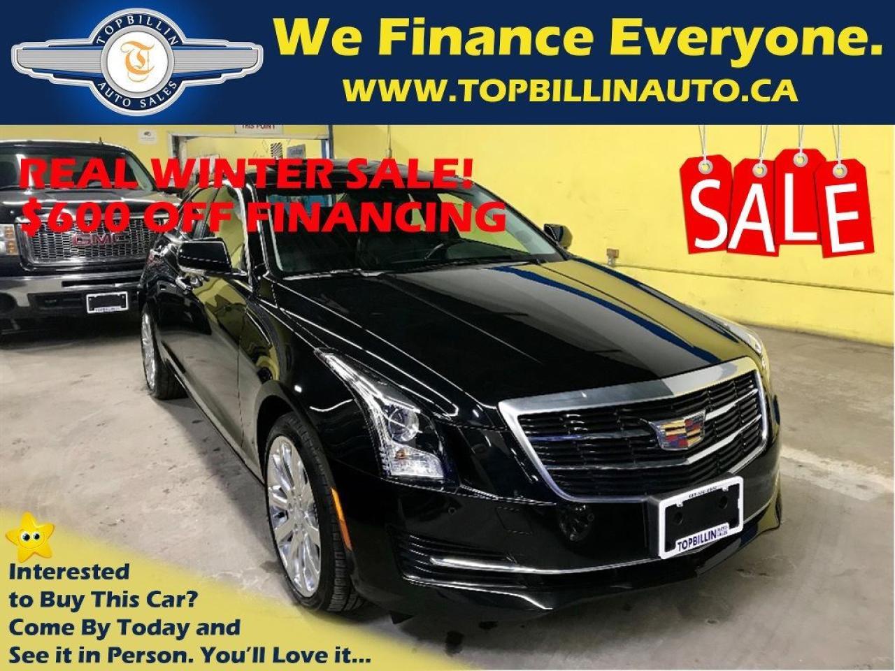 2015 Cadillac ATS AWD 2.0L Turbo Luxury, Navigation 33K kms