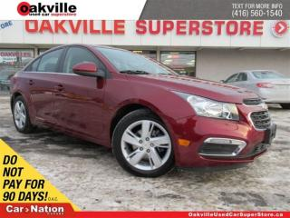 Used 2015 Chevrolet Cruze Diesel   LEATHER   B/U CAM   SUNROOF   BLUETOOTH for sale in Oakville, ON