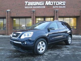 Used 2009 GMC Acadia SLT AWD LEATHER SUNROOF NAVIGATION for sale in Mississauga, ON