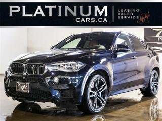 Used 2015 BMW X6 M 567HP, NAVI, HEADS UP DISP, DRIVER ASSIST, EXEC PK X6 M for sale in North York, ON