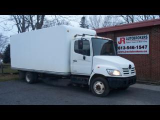 Used 2008 Hino 165 18' Box Truck - 4.7L Turbo Diesel for sale in Elginburg, ON