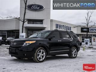 Used 2015 Ford Explorer Limited, 1 owner, navigation, factory certified for sale in Mississauga, ON