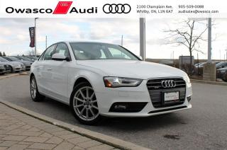 Used 2014 Audi A4 6-Speed quattro Progressiv w/ Navigation for sale in Whitby, ON