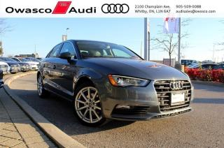 Used 2015 Audi A3 quattro Technik + Back-Up Cam | Bang & Olufsen for sale in Whitby, ON