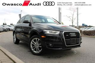 Used 2015 Audi Q3 quattro Technik + BACKUP CAM | BOSE | SIDE ASSIST for sale in Whitby, ON