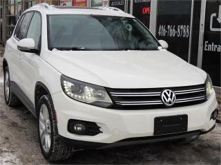 Used 2012 Volkswagen Tiguan COMFORTLINE for sale in Etobicoke, ON