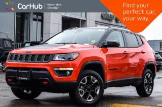 New 2018 Jeep Compass NEW CAR Trailhawk 4x4|Nav,Security,Adv.Safety,ColdWthrPkgs|17