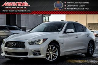 Used 2016 Infiniti Q50 3.0t AWD|Sunroof|Backup Cam|Leather|BOSE|R.Start|17