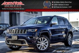 Used 2017 Jeep Grand Cherokee Limited 4x4|Luxury Grp 2|Pano_Sunroof|Nav|BlindSpot|20