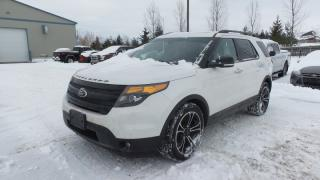 Used 2013 Ford Explorer Sport 3.5Eco 365Hp Leather, Moon, Navi for sale in Stratford, ON