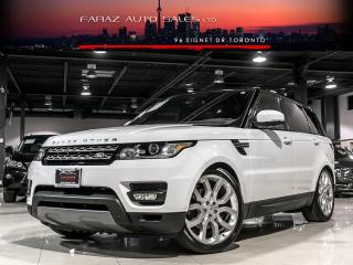 Used 2015 Land Rover Range Rover Sport B.SPOT|LDW|PARK ASSIST|ADP CRUISE|360 CAM|PANO|LOADED for sale in North York, ON