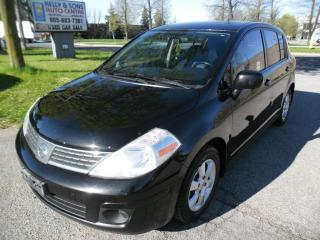 Used 2007 Nissan Versa ***Super clean NO ACCIDENTS + FREE 6M Warranty*** for sale in Ajax, ON