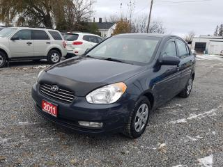 Used 2011 Hyundai Accent GLS POWER SUNROOF for sale in Gormley, ON