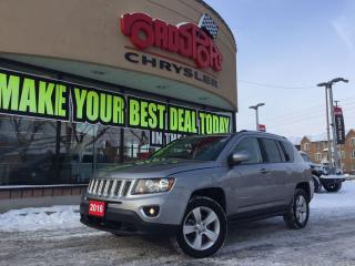 Used 2016 Jeep Compass High Altitude 4X4 P-ROOF REAR CAM, LTHR for sale in Scarborough, ON