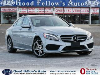 Used 2015 Mercedes-Benz C-Class C 300 MODEL, 4MATIC, AUTO PARK, LEATHER SEATS for sale in North York, ON