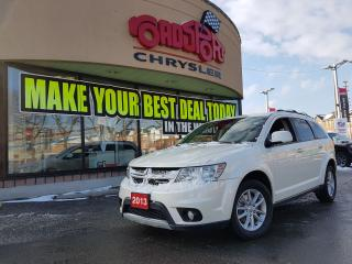 Used 2013 Dodge Journey SXT H-TED SEATS R-MOTE START DVD R CAM for sale in Scarborough, ON