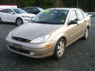 Used 2001 Ford Focus ZTS for sale in Parksville, BC