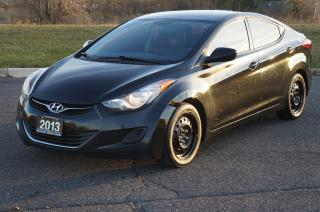 Used 2013 Hyundai Elantra GL Back-Up Camera 5-Speed Manual No Accident for sale in North York, ON